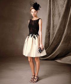 CAILEN - Vestido de festa em tule e renda Pronovias