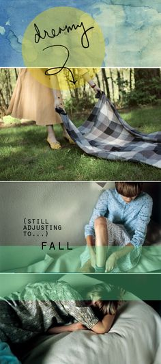 dreamy adjusting to fall (inspired to share)