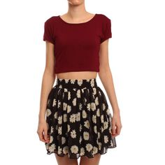 Notes: I like the print, crop is nice too.  http://www.ark.co.uk/Ark_Female/Skirts_page_2/Hearts_and_Bows_Black_Sun_Valley_Daisy_Skater_Skirt6.html