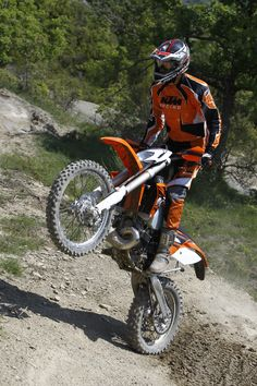 We are just working on a bik KTM 2013 Offroad story...