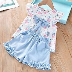 Toddler Girl Outfits, Little Girl Dresses, Kids Outfits, Toddler Girls, Toddler Girl Style, Kids Dress Wear, Baby Dress, Baby Girl Fashion, Kids Fashion