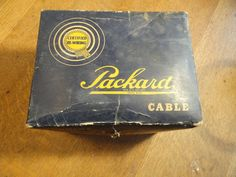 Genuine Packard Ignition Starting Lighting Cable - High Tension - 440 #Packeard