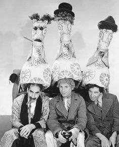 Groucho, Harpo and Chico Marx– A Day at the Races