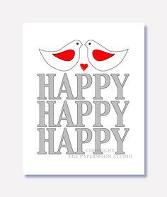 Happy Happy Happy Print
