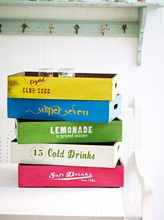 Simple things 10: Soda boxes
