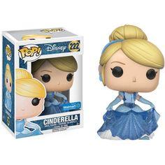Funko POP! Disney Cinderella Sparkle Dress Cinderella Vinyl Figure, Walmart Exclusive, Multicolor