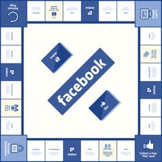 Brilliant! Facebook Board Game Brings Social Media To The Real-World - PSFK