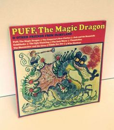 Puff the Magic Dragon LP we found in our warehouse.