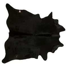 Check out this item at One Kings Lane! Natural Hide, Black