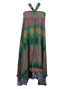 Mogul Silk Wrapskirt Green Printed Two Layer Sari Wrap Around Skirt Beach Dress Mogul Interior http://www.amazon.com/dp/B013OYRZB0/ref=cm_sw_r_pi_dp_ZPuYvb14970A5