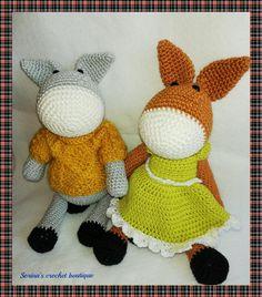 Hello Kitty, Dinosaur Stuffed Animal, Toys, Crochet, Fictional Characters, Animals, Art, Activity Toys, Art Background