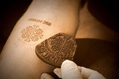 Razzouk Tattoo in Old City Jerusalem, Israel. Credit: Addie Mena/CNA. Ancient Christian tradition to commemorate a pilgrimage