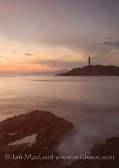 Sunrise at Ardnamurchan point, the most westerly place on the UK mainland