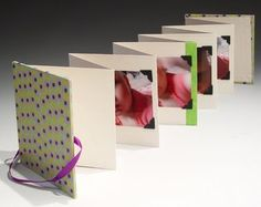 Handmade accordion book