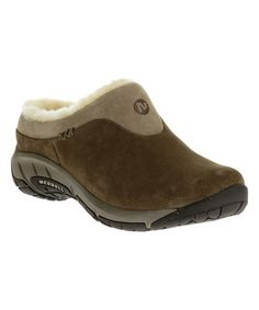 Look what I found on #zulily! Merrell Stone Encore Ice Leather Slip-On Walking Shoe #zulilyfinds