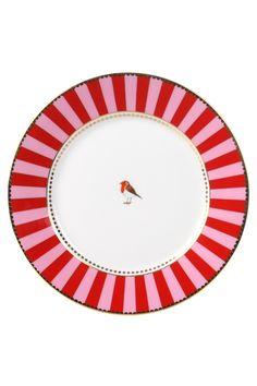 PiP Studio striped dessert plate
