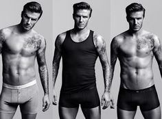 David Beckham looking mighty good