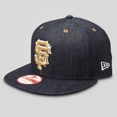 New Era - SF Giants New Era Snapback in Denim 8ef2322a3dfd