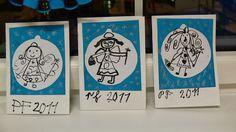 Tvoříme s dětmi  ☺: Andílci a andělé Angel Cards, Advent, Winter Art, Preschool Activities, Art School, Art For Kids, Christmas Cards, Projects To Try, Greeting Cards
