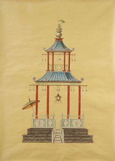 Chinoiserie Chic: Paul Montgomery Studio Pagoda Panels