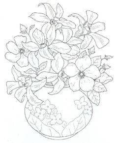 #ClippedOnIssuu de Floral Bouquets Coloring Book www.heroturko.com