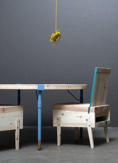 Tõnis Kalve & Ahti Grünberg : Derelict Furniture