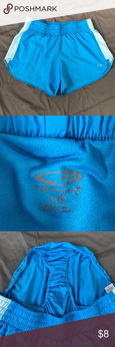 Blue Running Shorts Runner shorts, lining on inside. All items from smoke free home. Shorts