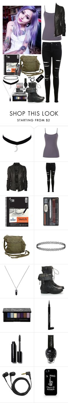 """""""Blake - PRP"""" by insane-alice-madness ❤ liked on Polyvore featuring maurices, Rick Owens, Kat Von D, Miss Selfridge, GAS Jeans, kiz&Co., Givenchy, Bobbi Brown Cosmetics and Sennheiser"""