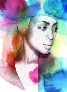 Absolutely beautiful illustrations by Berlin based artist Elisabeth Moch