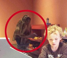 Hailed as one of the creepiest ghost pictures of all time it was snapped by Redditor KRAMERisKRUNK during a visit to the children's section of the museum with his niece.  He claims that he didn't notice anything unusual at the time, it was only when his niece saw the photo later and asked what the thing in the background was that he realised he had captured far more than a group of children having fun.