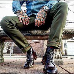Alden of Carmel - Color 8 Shell Cordovan Handsewn Indy Boot,. Alden Indy Boot, Alden Boots, Alden Cordovan, Cordovan Shoes, Mens Shoes Boots, Leather Boots, Shoe Boots, Fashion Boots, Mens Fashion