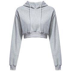 Cheap sudaderas mujer, Buy Quality cropped hoodie directly from China women crop hoodie Suppliers: Woman Crop Hoodies 2017 Autumn Chic Lace Up Long Sleeve Pullover Sweatshirt Women Crop Top Girls Black Sudaderas Mujer Girls Fashion Clothes, Teen Fashion Outfits, Mode Outfits, Stylish Outfits, Crop Top Hoodie, Pullover Hoodie, Cropped Hoodie, Grey Hoodie, Hoodie Outfit