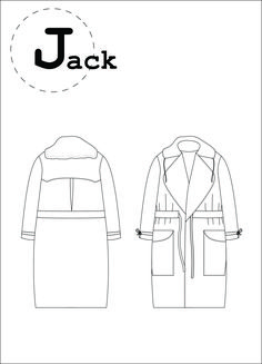 sewing pattern, trench coat patron de couture Ready to sew