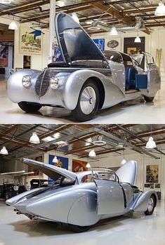 De Mullin Automotive Museum, Deel 2: Jay Leno's Garage controleert de 1938 Hispano-Suiza Dubonnet - Core77