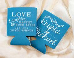 Monogrammed Wedding Favors Wedding Monogram Custom by SipHipHooray