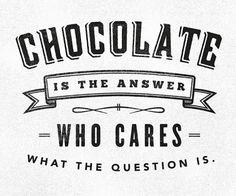 Chocolate Lovin'