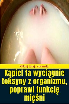 Kąpiel ta wyciągnie toksyny z organizmu, poprawi funkcję mięśni Beauty Care, Beauty Makeup, Hair Beauty, Body Detox, Health And Beauty, Health Tips, Life Hacks, Fitness, Natural Things