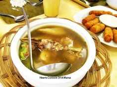 Lunch Date With Friends At Golden Cowrie Soup, Lunch, Friends, Cooking, Ethnic Recipes, Amigos, Kitchen, Eat Lunch, Soups