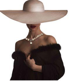 maurocuervo: Te deseaba todo el tiempo Cool Hats, Big Hats, Fancy Hats, Headdress, Headpiece, Hats For Women, Ladies Hats, Fashion Mode, Fashion Hats