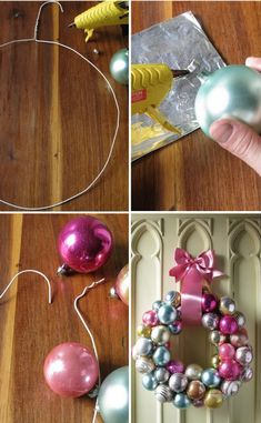 Tiptoethrough: Weekend Project: DIY Handmade Christmas Decorations