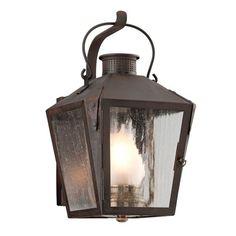 Small Andover Lantern, Natural Rust
