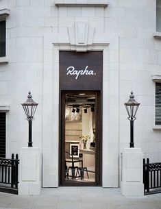 ✕ Fabulous exterior: Rapha—love, love, love (thanks, David!) / #exterior #architecture