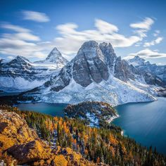Mount Assiniboine by Callum Snape