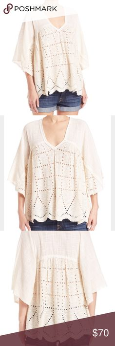 Free people summer lovin peasant top Free people summer lovin peasant top. Size xsmall. Perfect condition. Only worn once. Free People Tops