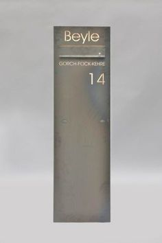freistehende briefkasten s ule aus corten stahl fassade pinterest. Black Bedroom Furniture Sets. Home Design Ideas