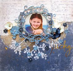 Enjoy this cute LO by Keren Tamir, using papers from MajaDesign's Denim & Friends collection. <3  #layout #LO #lo #scrapbooking #scrapbook #scrapping #scrap #papercraft #papercrafting #papercrafts #majadesign #majadesignpaper #majapapers #inspiration #vintage