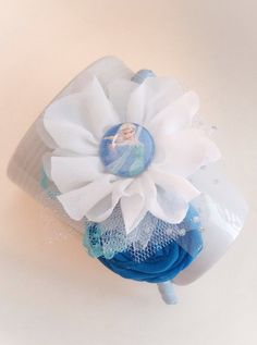 Elsa or Anna Headband you choose by JensBowdaciousBows on Etsy, $8.00