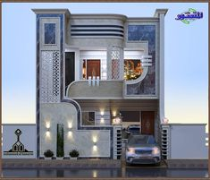 Design Discover To see more visit House Front Design Modern House Design House Elevation Luxury Homes Beautiful Homes Places To Visit New Homes House Styles Engine Modern Exterior House Designs, Latest House Designs, Cool House Designs, Architect Design House, Bungalow House Design, Village House Design, Kerala House Design, Classic House Design, Unique House Design