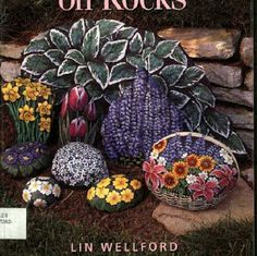 The art of painting on rocks or stone is a fine and creative art we need for it: 1. Smooth flat stones. 2. Felt markers. 3. Paints. ...