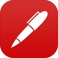 """""""Noteshelf - Notieren, Skizzieren, Kommentieren, Evernote Sync"""" von Fluid Touch Pte. Ltd."""